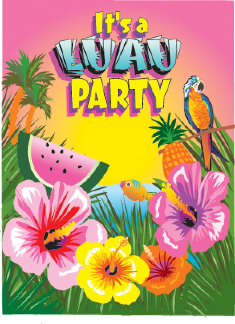 luau july 28 raleigh oaks rv resort cottages